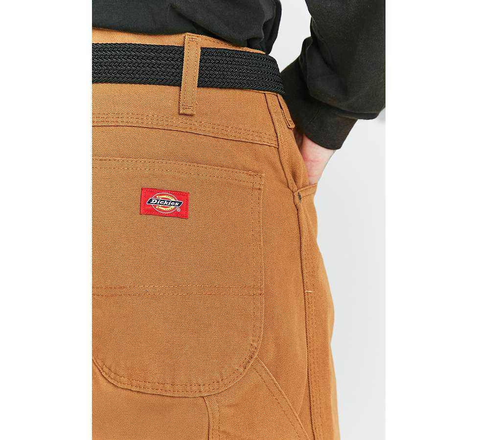 Slide View: 3: Dickies - Pantalon style charpentier marron canard