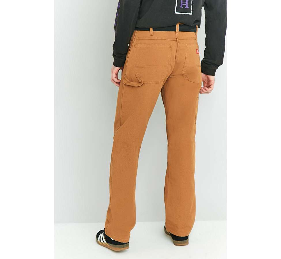 Slide View: 4: Dickies - Pantalon style charpentier marron canard