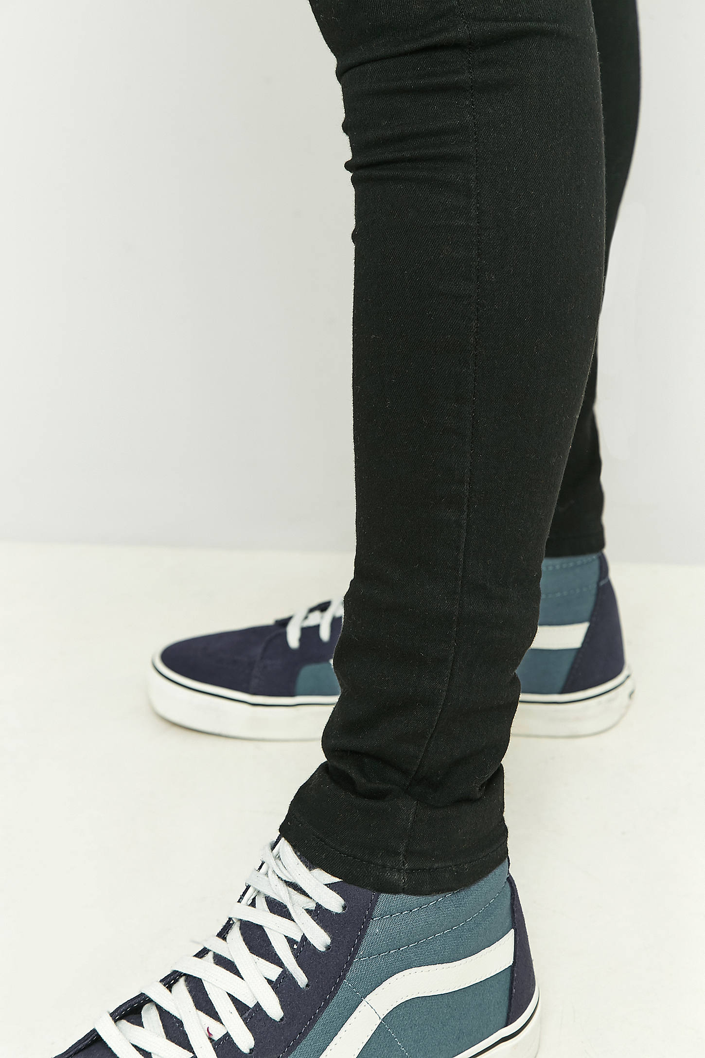 Cheap Monday Him Spray Black Skinny Jeans | Urban Outfitters
