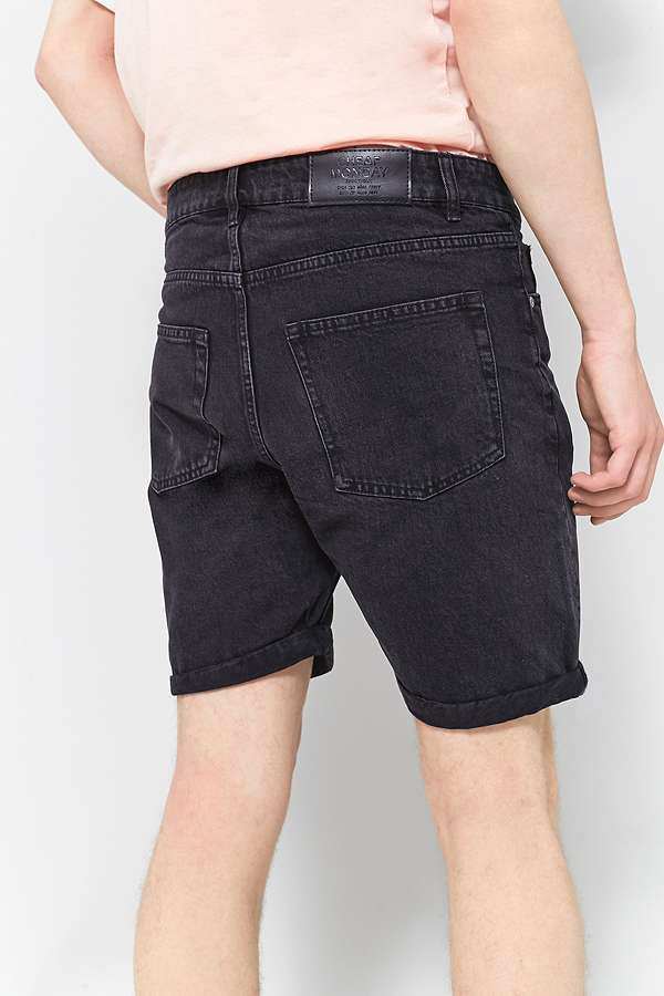 Cheap Monday Sonic Brute Black Shorts | Urban Outfitters