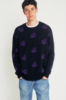obey-shepherd-rose-black-purple-jumper-mens-m