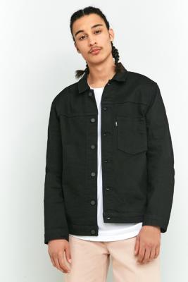 Levis L8 Either Or Black Trucker Jacket Black