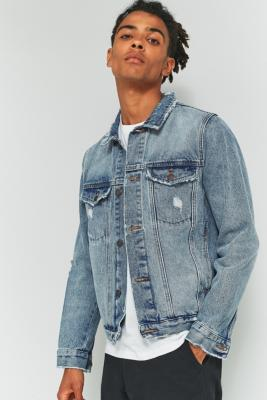 Rolla's Stone Denim Trucker Jacket – Mens S