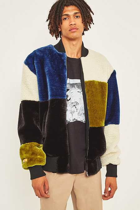 Men S Bomber Jackets Faux Fur Wool Amp Quilted Bombers