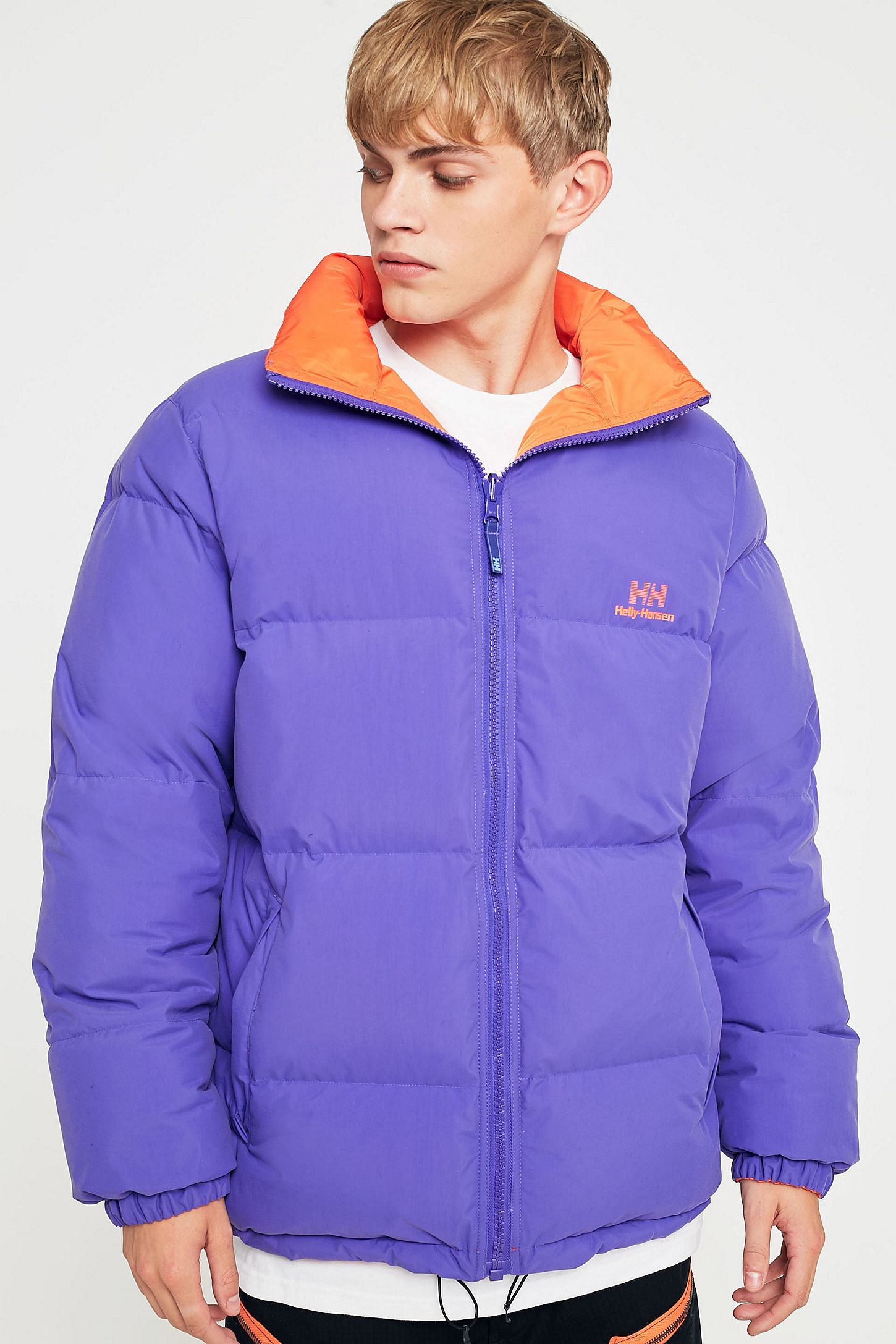 Helly Hansen Liberty Purple Reversible Puffer Jacket  fa69753f1