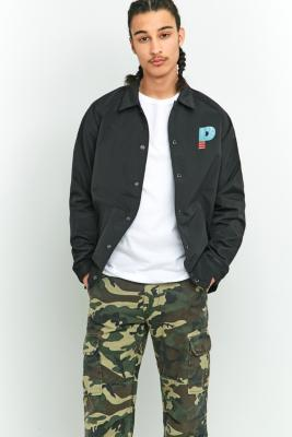 Penfield Howard Black Coach Jacket BLACK