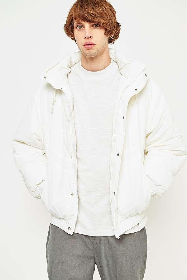 vivastudio Pro Line White Parka Jacket | Urban Outfitters