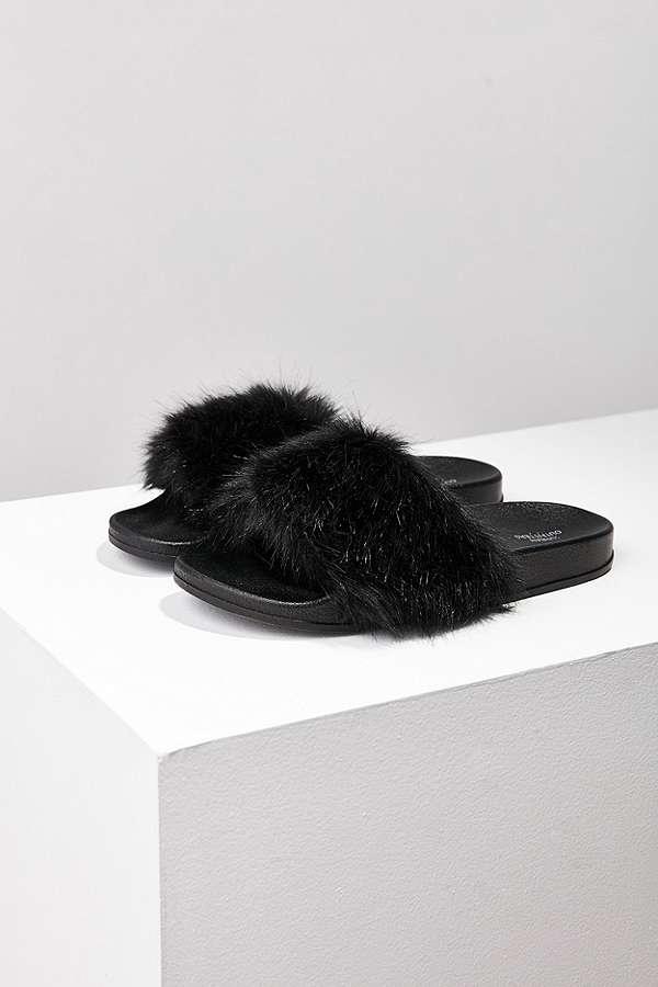 Slide View: 1: Lola Faux Fur Pool Slides