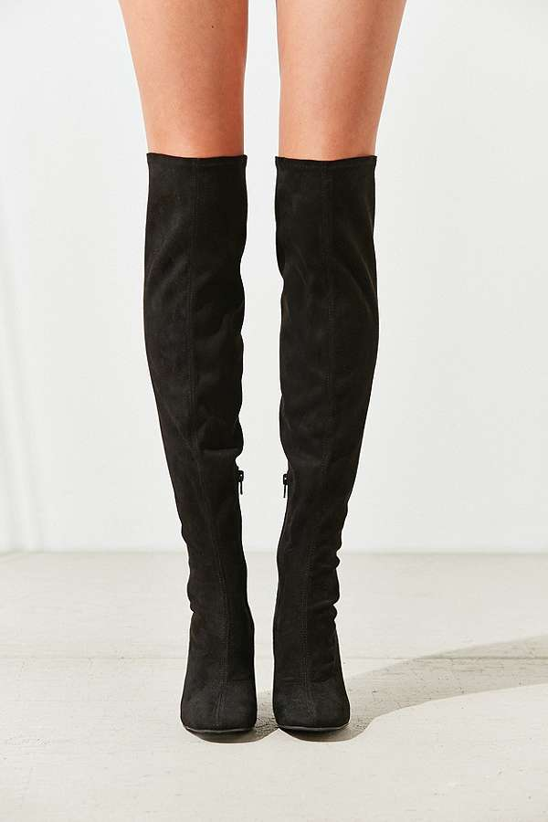 Samantha Thigh High Boots | Urban Outfitters