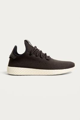 Adidas - adidas Pharrell Williams Black Tennis HU Trainers, Grey