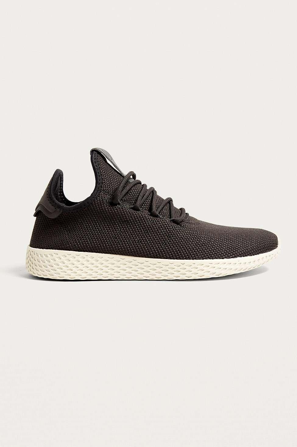 adidas Pharrell Williams Black Tennis HU Trainers, Grey