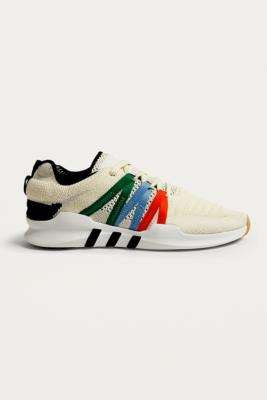 Adidas - adidas Originals EQT Racing ADV White Trainers, Ivory