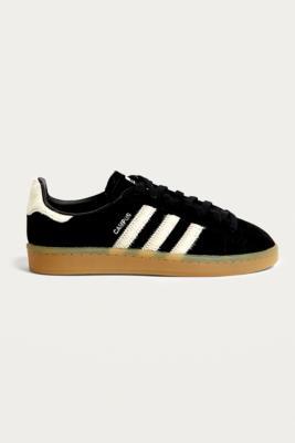 Adidas Originals - adidas Originals Campus Black Trainers, Black