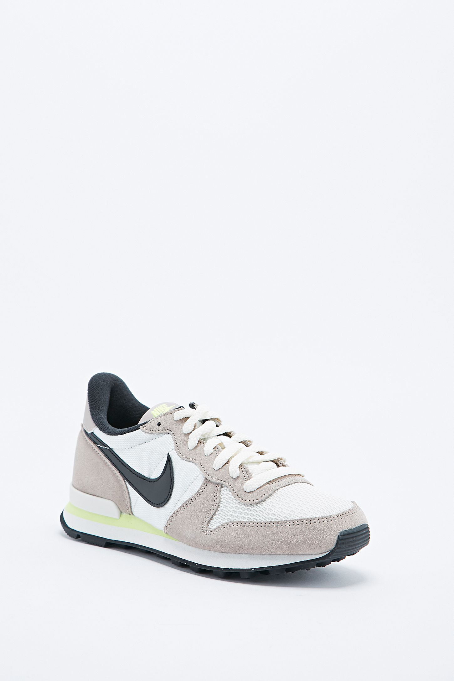 best service bb55a 7d568 ... Nike Internationalist Trainers in Dark Grey  Double Tap to Zoom ...