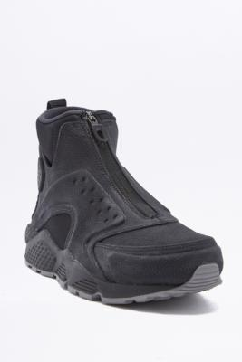 Nike Air Huarache Mid Black Trainers Black