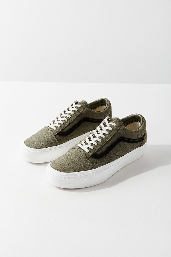 vans kaki