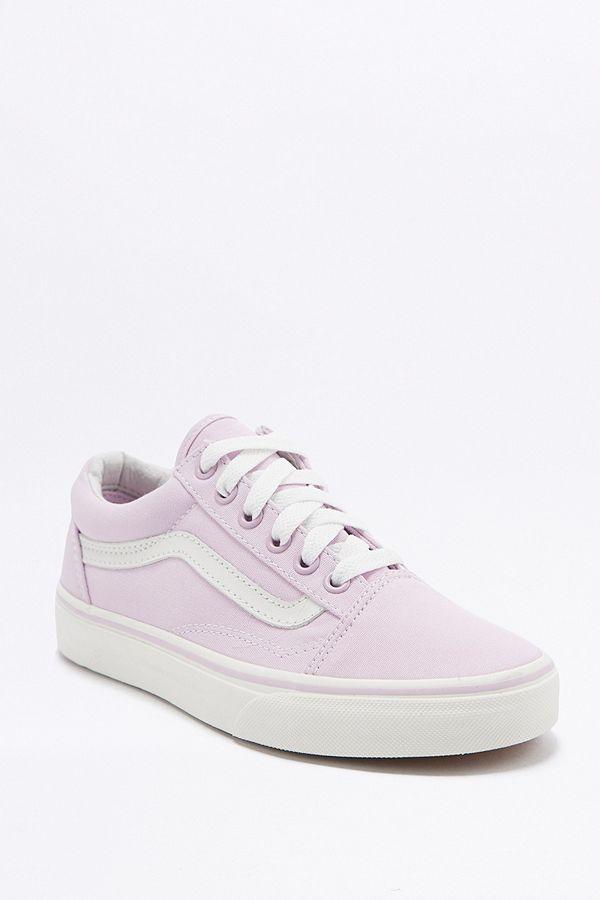Vans Old Skool Baby Pink Trainers  7bcde6575