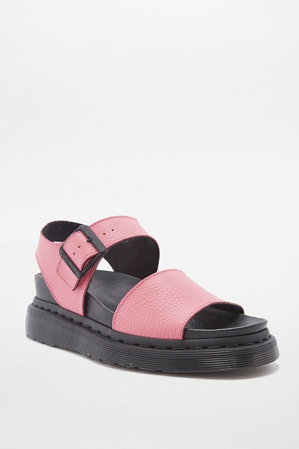 Dr. Martens Romi Pink Strap Sandals   Urban Outfitters UK ffb822cb5582