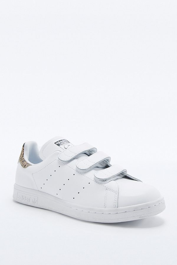 stan smith snake blanche