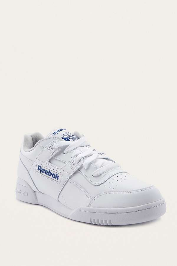Slide View: 1: Reebok Workout Plus Trainers