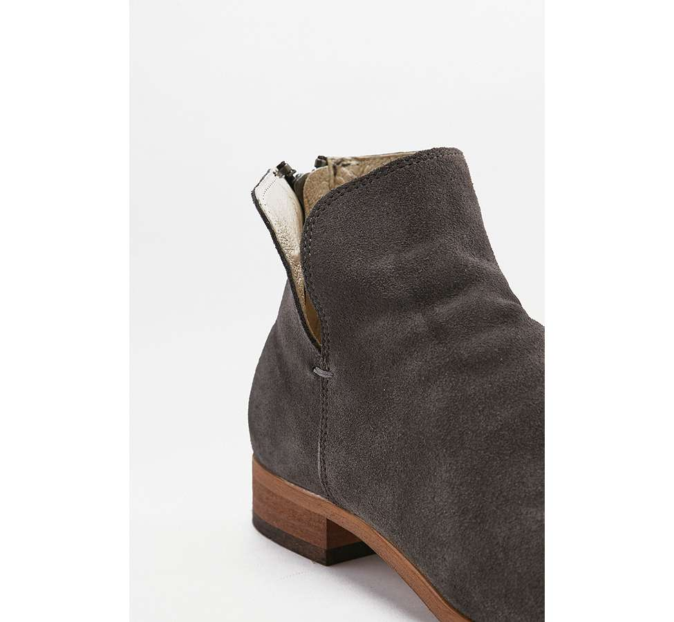 Slide View: 2: Shoe The Bear Soho Dark Grey Chelsea Boots