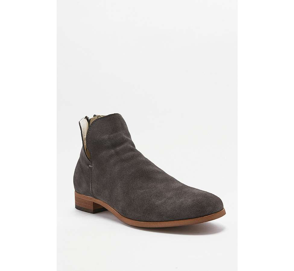 Slide View: 5: Shoe The Bear Soho Dark Grey Chelsea Boots