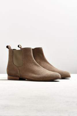 UO Black Suede Chelsea Boot – Mens UK 9