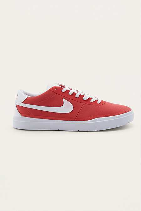Nike SB Red Hyperfeel Canvas Trainers