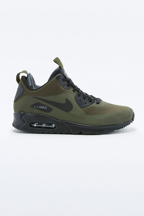24c367ed2c ... new style nike air max 90 mid winter khaki trainers 0d7a2 0a3f6