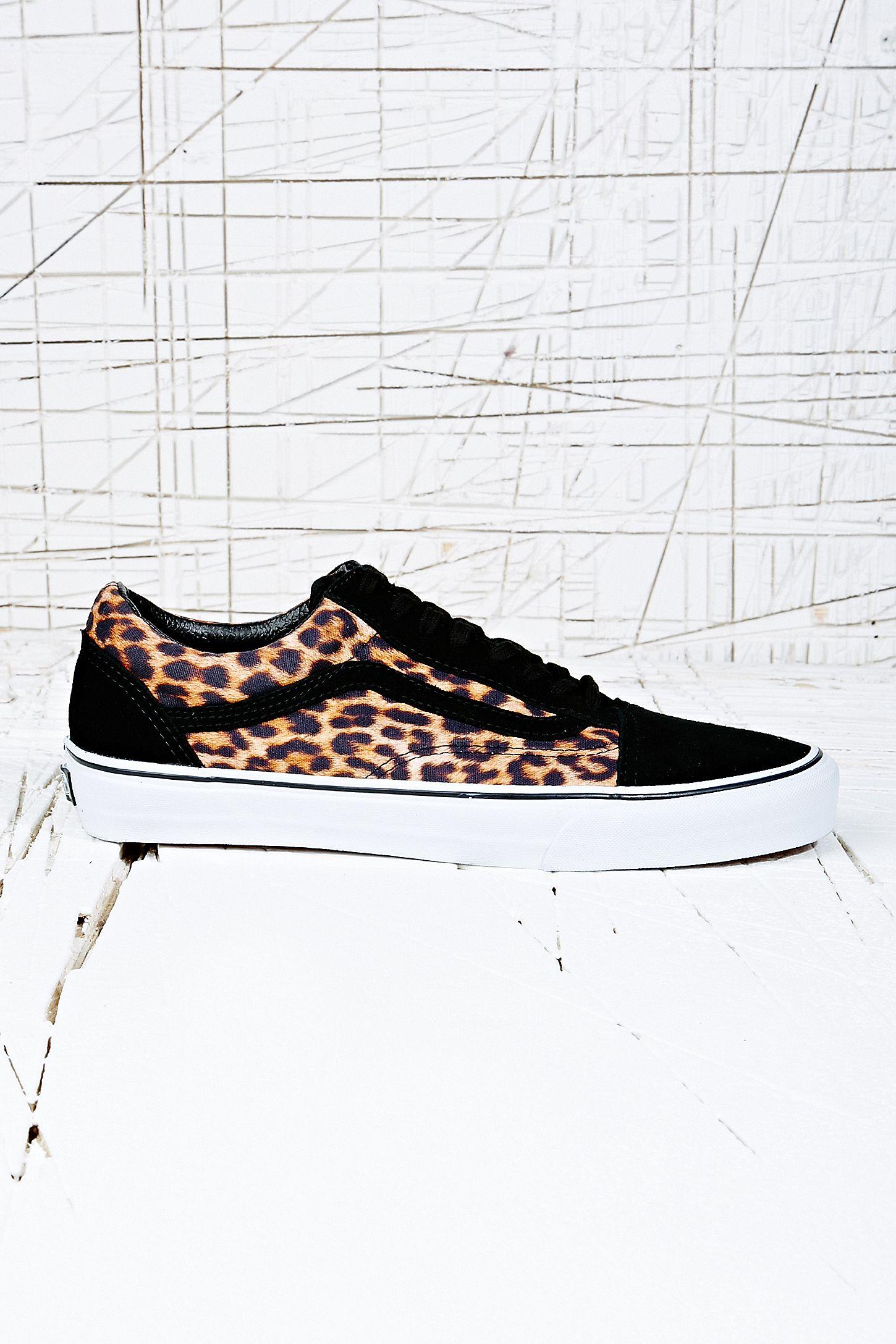 Vans Old Skool Suede Trainers in Leopard Print  380c9e4a4c0e