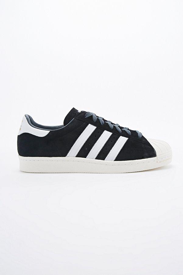 adidas Originals - Baskets Superstar 80s Deluxe en daim noir