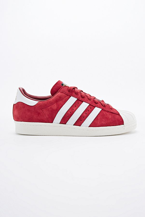 usa adidas superstar 80s dlx suede red 9c3c7 4b453