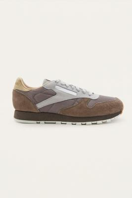 Reebok Classic Leather SM Grey Trainers – Mens UK 9.5
