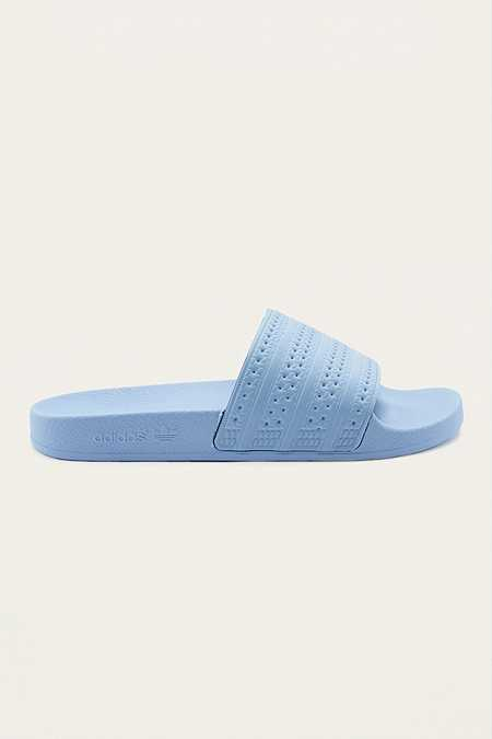 "adidas Originals – Badeschlappen ""Adilette"" in Easy Blue"
