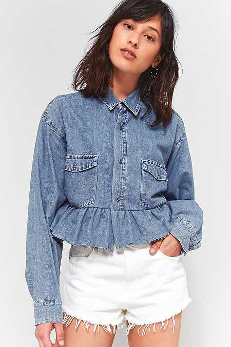 Women's Shirts & Blouses | Button-Down & Flannel Shirts | Urban ...