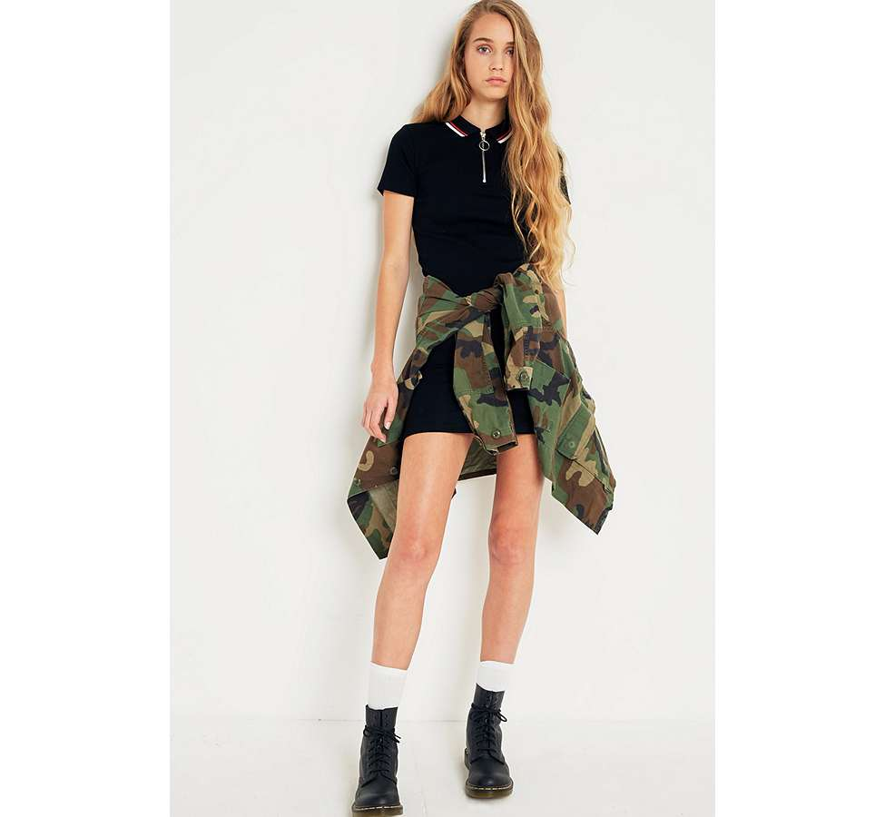Slide View: 2: Urban Renewal Vintage Originals Camo Jacket