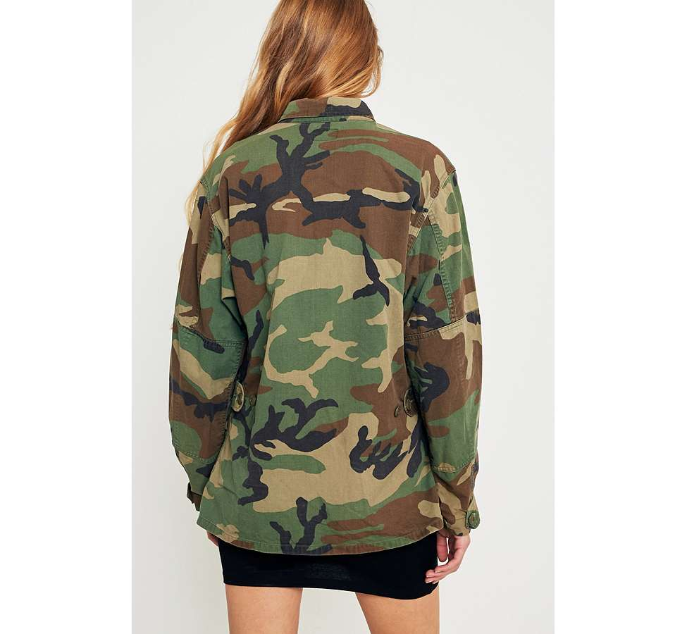 Slide View: 4: Urban Renewal Vintage Originals Camo Jacket