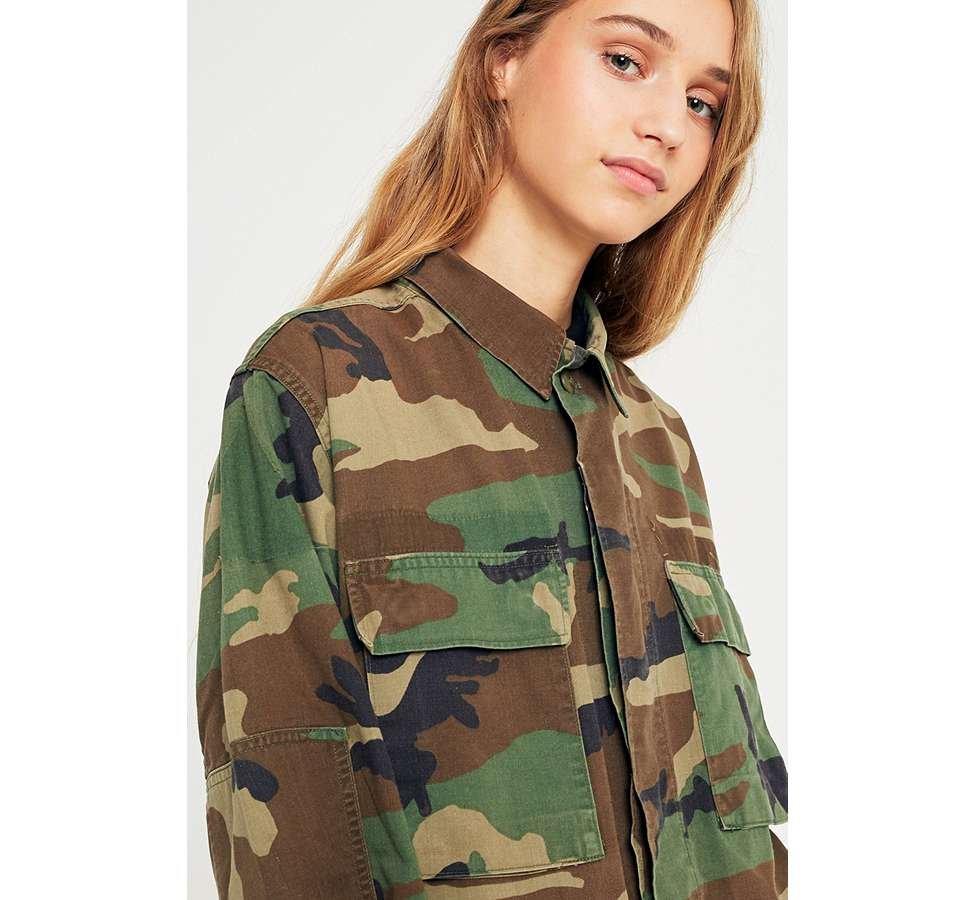 Slide View: 6: Urban Renewal Vintage Originals Camo Jacket