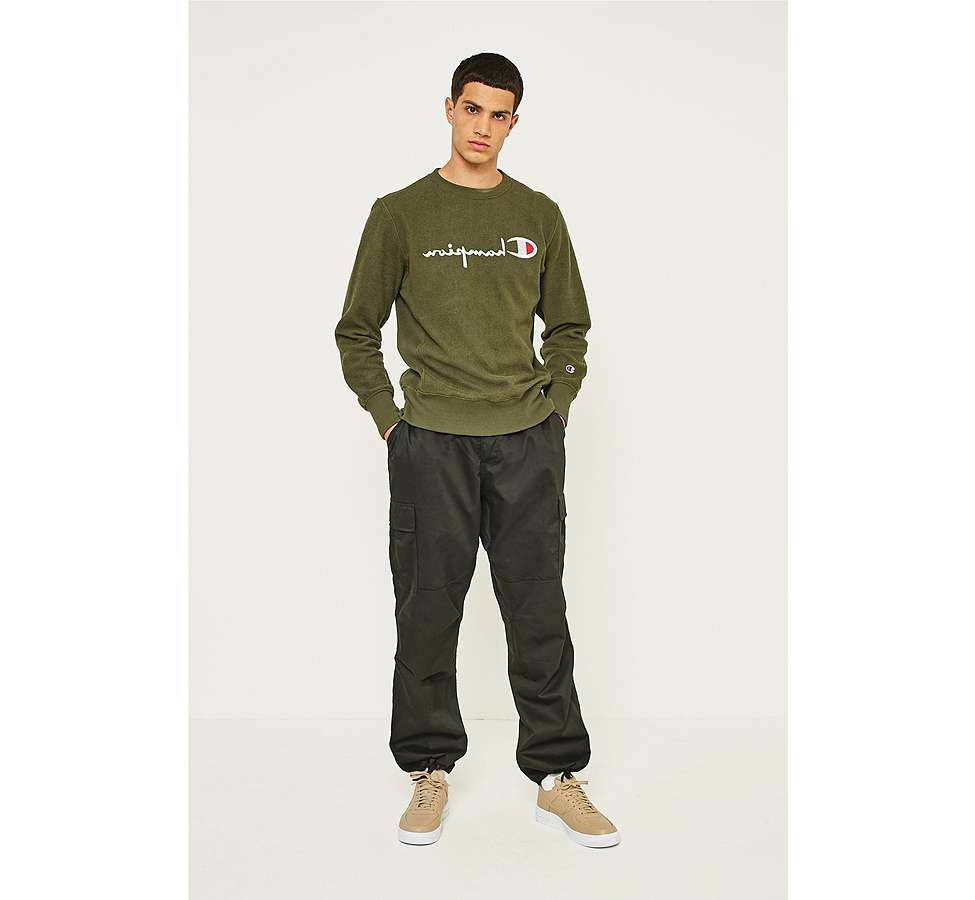 Slide View: 1: Urban Renewal Rothcho BDU Black Cargo Trousers