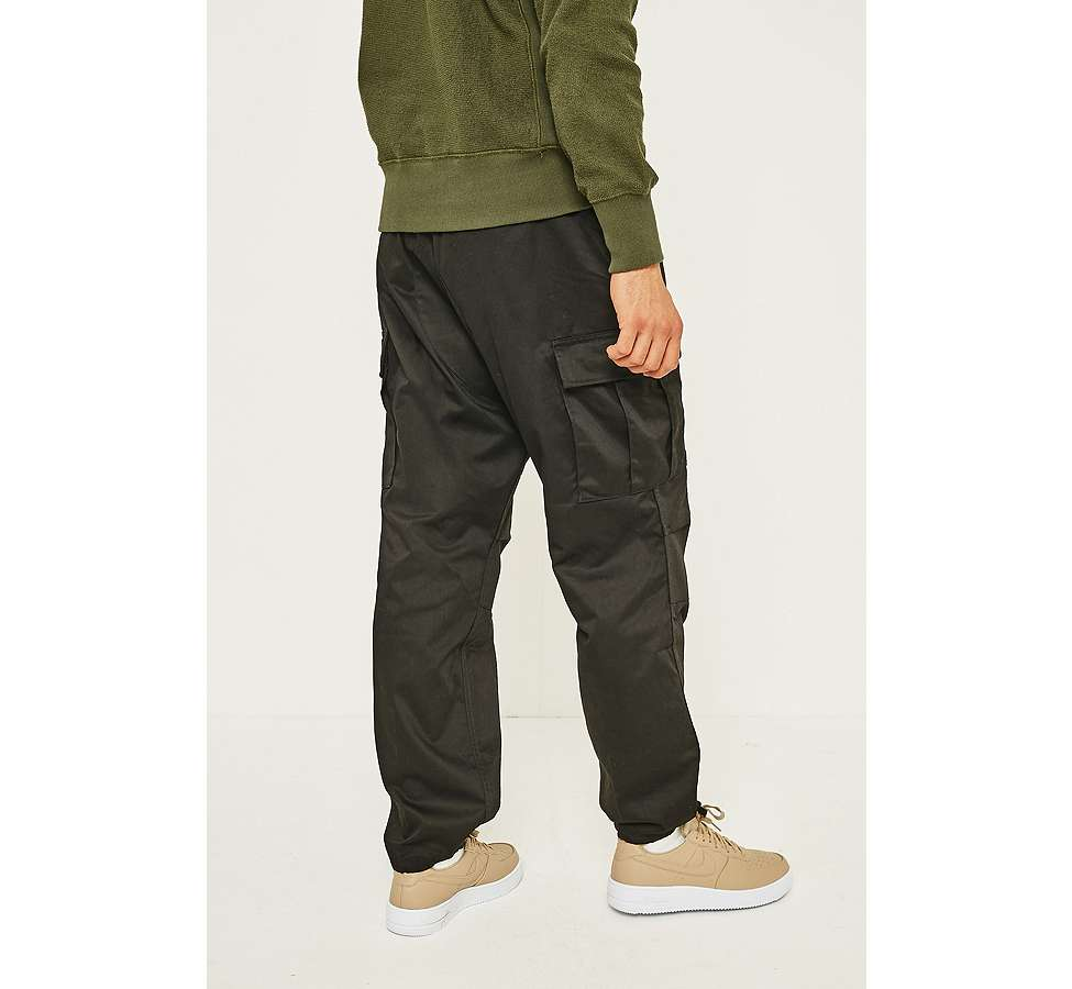 Slide View: 4: Urban Renewal Rothcho BDU Black Cargo Trousers