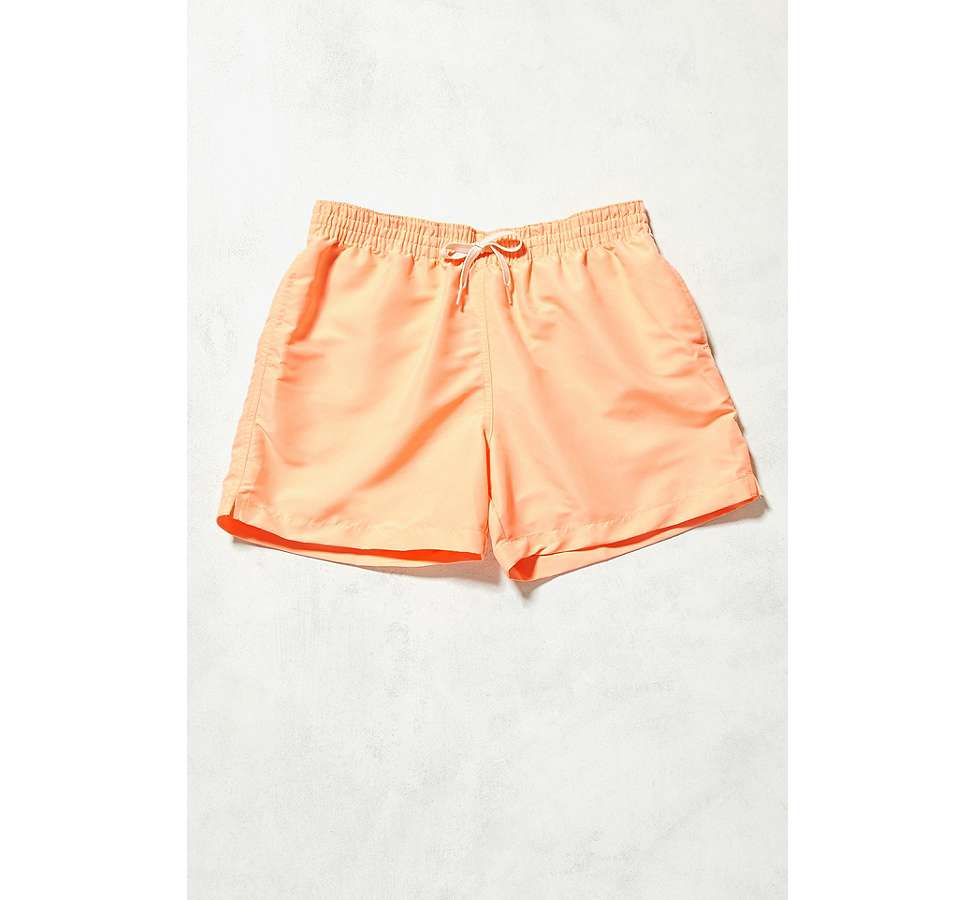 Slide View: 1: Urban Renewal – Chubbies-Badeshorts in Pfirsich
