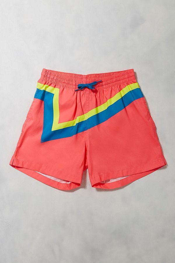 Urban Renewal Vintage Surplus Neon Pink Chubbies Swim Shorts  3ee7c694a