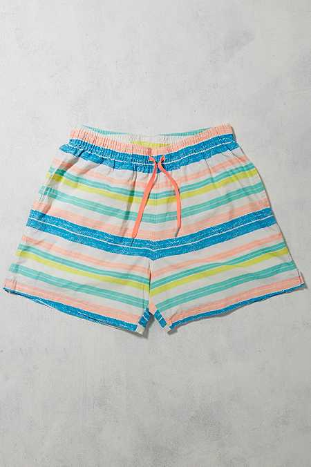 Urban Renewal Vintage Surplus - Short de bain à rayures Chubbies
