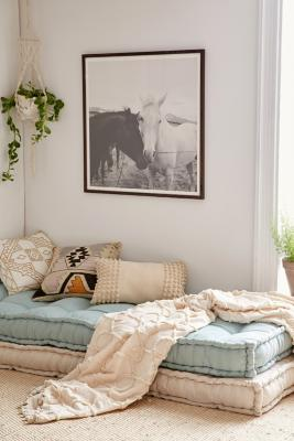 Rohini Daybed Cosy Tufted Cushion by Urban Outfitters