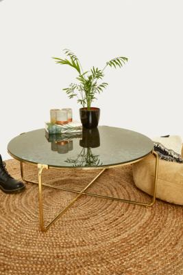 Image of Antique Mirror Table, Gold