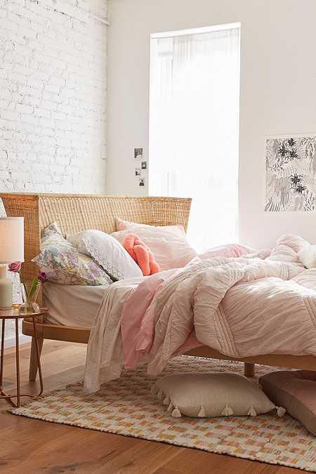 jens woven windsor platform bed