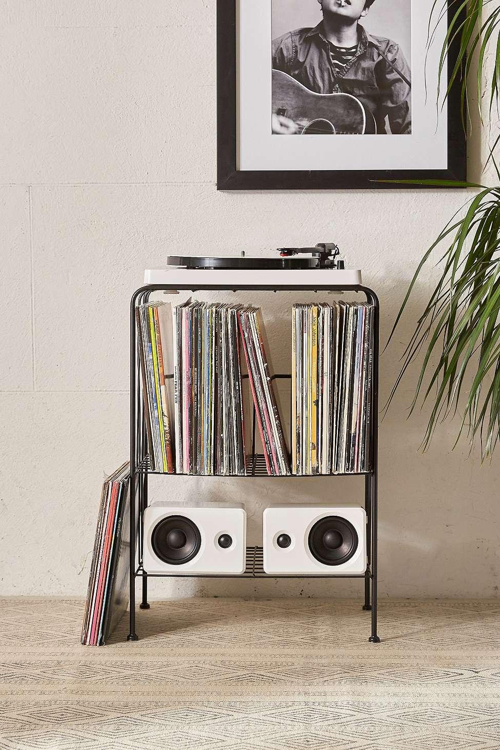 Meuble De Rangement Melanie Pour Disques Vinyle | Urban Outfitters