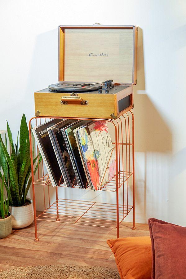 slide view 1 meuble de rangement melanie pour disques vinyle