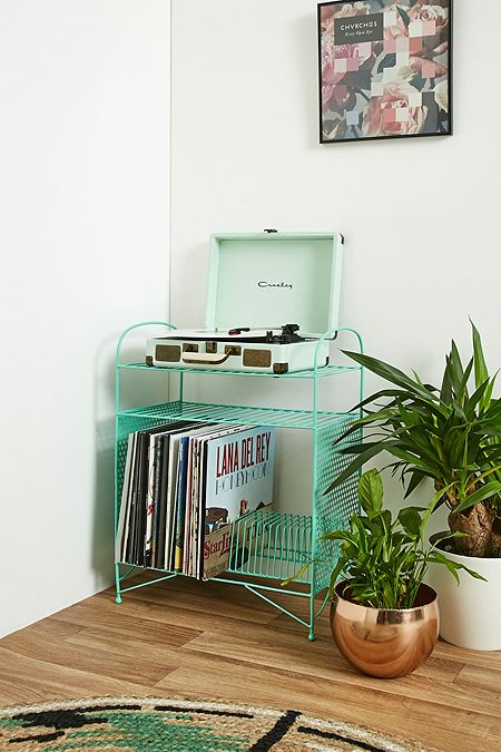 étagère larisa pour disques vinyle