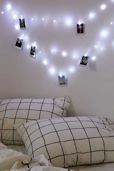 Bedroom String Lights Pinterest